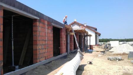 budowa garaży Osiedle Bnińskie w Kórniku 2