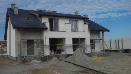 budowa domu jednorodzinnego Osiedle Bnińskie w Kórniku 3