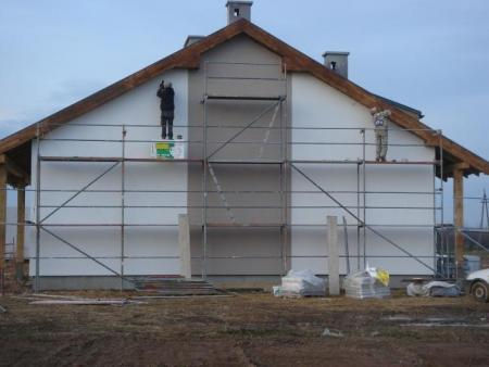 budowa domu jednorodzinnego Osiedle Bnińskie w Kórniku 1