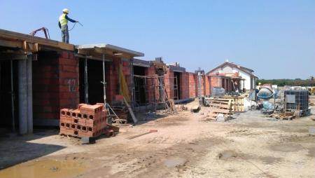 budowa garaży na osiedlu