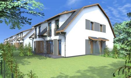 wizualizacja domów na Osiedlu Przyjazne w Robakowie
